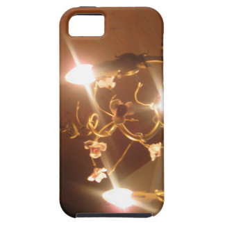 A beautiful chandelier inside a hotel room iPhone 5 case