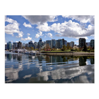 A Beautiful Day in Vancouver, British Columbia Postcard
