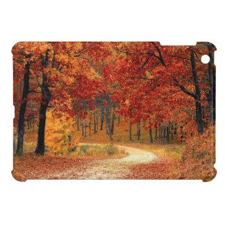 A beautiful fall scene designed iPad mini case. iPad Mini Cover