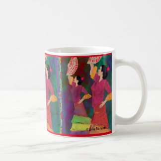 A Beautiful Flamenco Coffee Mug