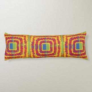 A beautiful ikat design body pillow cotton