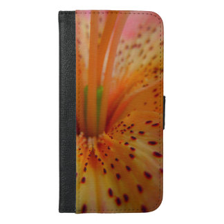 A Beautiful Lily in Pink iPhone 6/6s Plus Wallet Case