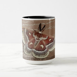 a beautiful moth! mug