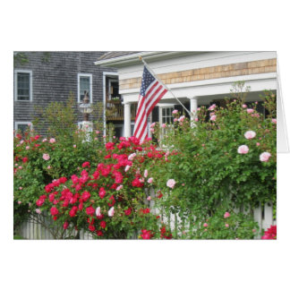 """""""A Beautiful Nantucket Cottage"""" Note Card"""