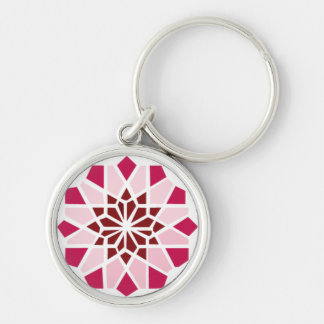 A Beautiful Place for Beautiful Women Silver-Colored Round Key Ring