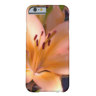 A - Beautiful Shaded Orange Lily Barely There iPhone 6 Case
