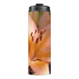 A - Beautiful Shaded Orange Lily Thermal Tumbler