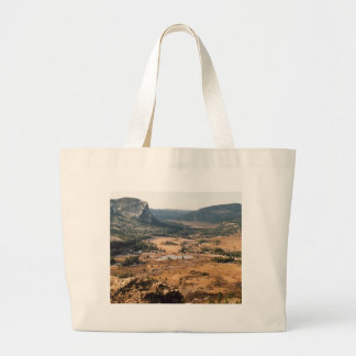 A Beautiful Valley Large Tote Bag