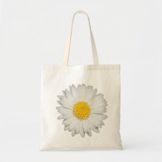 A Beautiful Yellow And Wild White Daisy Tote Bag