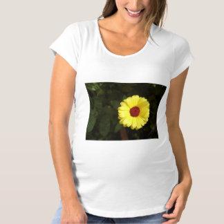 A beautiful yellow flower maternity T-Shirt