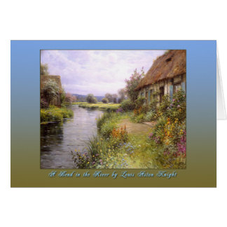A Bend in the River by Louis Aston Knight Card