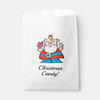 A Big, Giant, Merry Christmas Santa Candy Bag