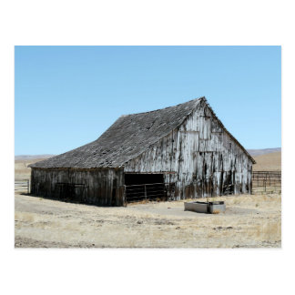 A Big Old Barn Postcard