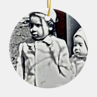 A Big Sister will always be there for you! Ceramic Ornament