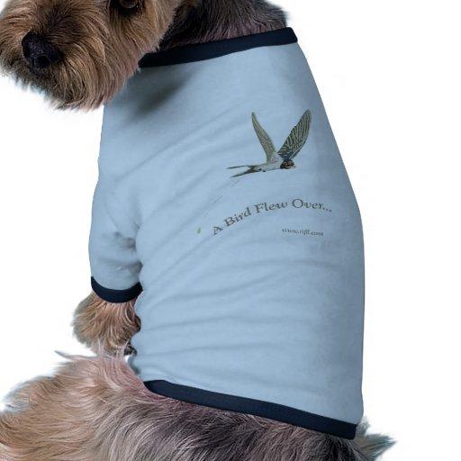 A-Bird-Flew-Over Dog Tee