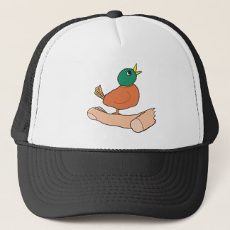 A Bird in the Hand Is Worth Two in the Bush Trucker Hat