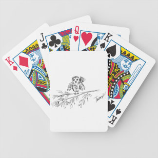 A Bird, The Original Tweet Bicycle Playing Cards