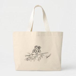 A Bird, The Original Tweet Large Tote Bag