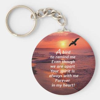 A Bird to Remind Me Keychain