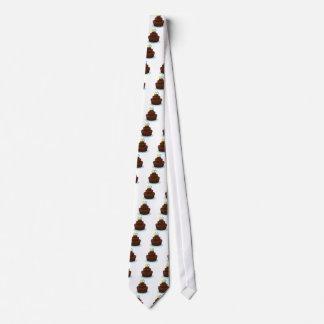 a birthday cake tie