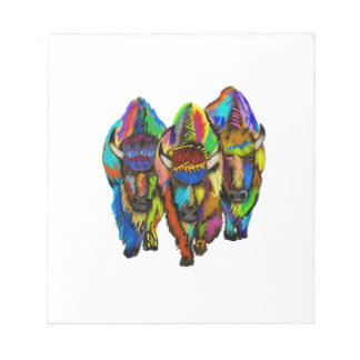 A Bison Trio Notepads