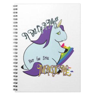 a Bit of a Mess, But I'm still Magical Notebook
