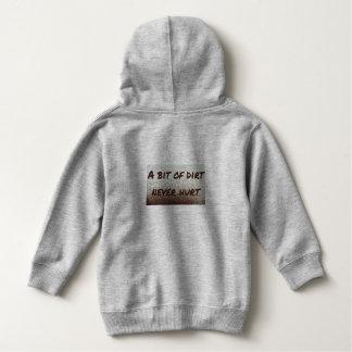 A bit of dirt never hurt! hoodie