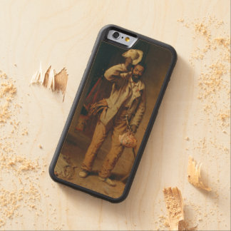 A Bit of War History by T.W. Wood Carved Maple iPhone 6 Bumper Case