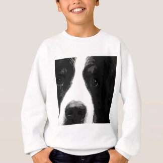 A black and white Bernese mountain dog Sweatshirt