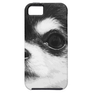 A black and white Chihuahua iPhone 5 Case