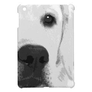 A black and white Labrador retriever Cover For The iPad Mini