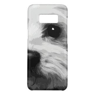 A black and white Maltese Case-Mate Samsung Galaxy S8 Case