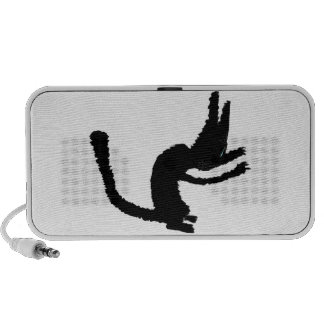 A Black Cat Shows His Claws Mp3 Speaker