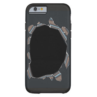 A black hole in my Iphone! Tough iPhone 6 Case