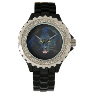 A Black Panther Wrist Watch