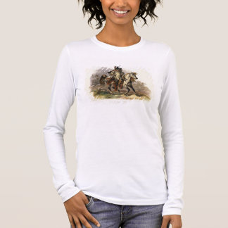 A Blackfoot Indian on Horseback, plate 19 from Vol Long Sleeve T-Shirt