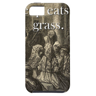A Bleating Sheep Eats - Basque Proverb iPhone 5 Cover