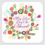 A Blessed Day - SRF Sticker
