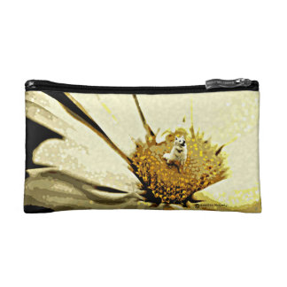 A Blossoming Personality Cosmetic Bag