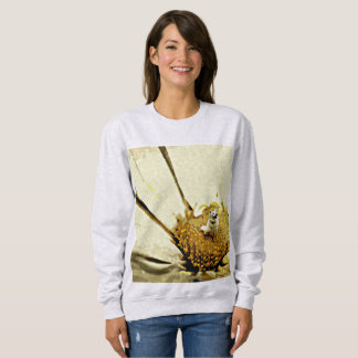 A Blossoming Personality Women's Basic Sweatshirt