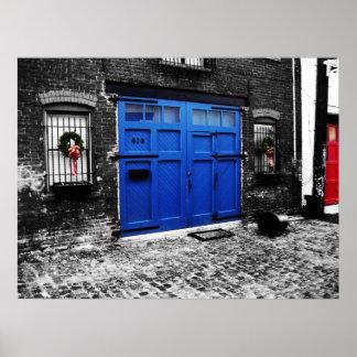 A Blue Door Poster