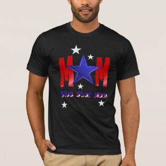 A Blue Star Mom-lettered T-Shirts