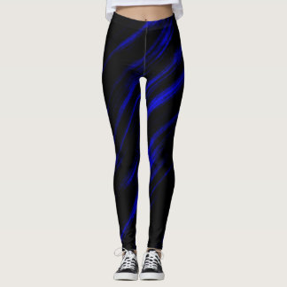 A Blue Streak Leggings