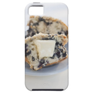 A blueberry muffin with butter iPhone 5 case
