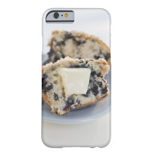 A blueberry muffin with butter iPhone 6 case