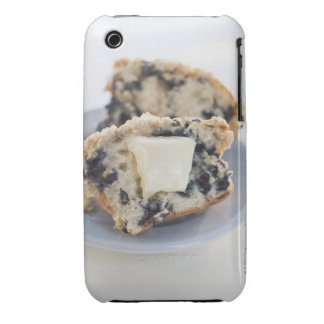 A blueberry muffin with butter iPhone 3 cases
