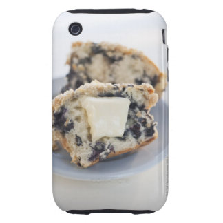 A blueberry muffin with butter iPhone 3 tough covers