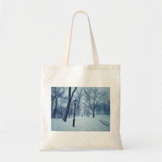 A Blustery Walk In The Park Tote Bag