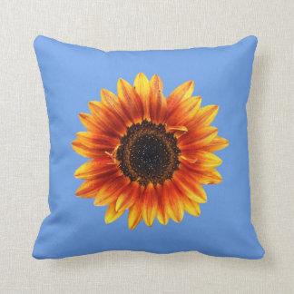 A Bold Autumn Beauty Sunflower Cushion