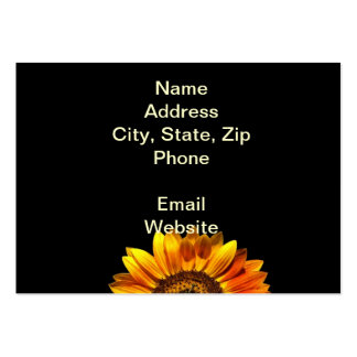 A Bold Sunflower Business Card